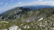 Панорамен изглед от връх Мальовица